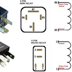 4 Pin Relay Wiring Diagram With Switch Way Venn Maker For Led Daytime Running Lights Finding Acc 12v Power How To Find Switched From The Fuse Box