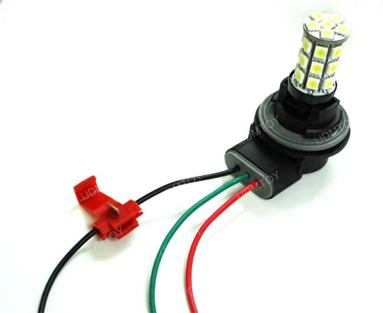 Diy Led Drl Turn Signal With Resistor Install Manual Guide