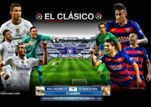 REAL MADRID - FC BARCELONA EL CLASICO 2015-388x276