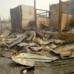 [News] : Fire destroys multi-million naira foodstuff in Ondo market