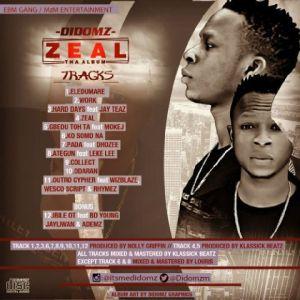 zeal-track-list