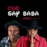 [Audio] : Cdq – Say Baba(Rmx) ft. Leke Lee | @cdqolowo @iamlekelee