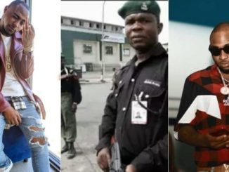 Davido's Mobile Police Escorts Arrested For Shooting Sporadically In Lagos