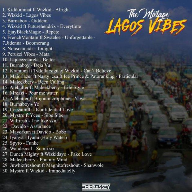 DJ Emmbassey – Lagos Vibes Mix 1