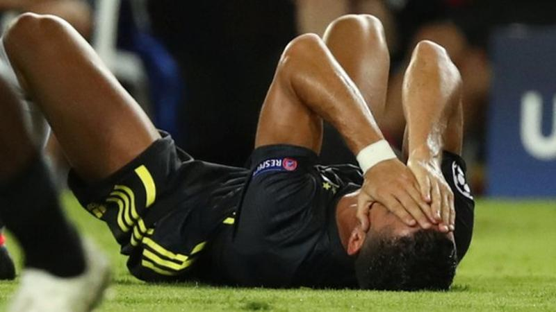 Tearful Ronaldo sent off as Juve beat Valencia - Watch Full Highlight