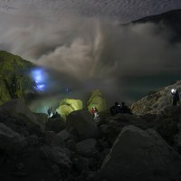 KAWAH IJEN BLUE FIRE TOUR FROM UBUD BALI