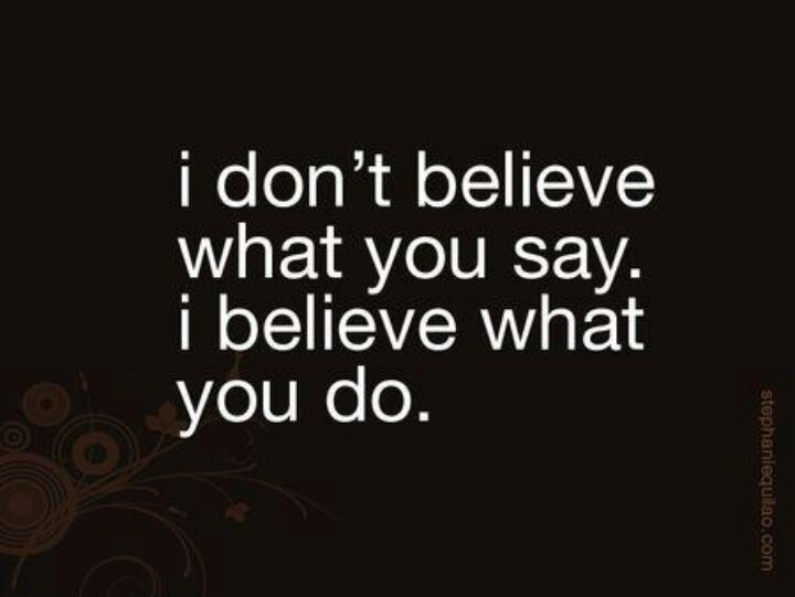 Actions Speak Louder Than Words Quote 4 Picture Quote 1 I J Golding