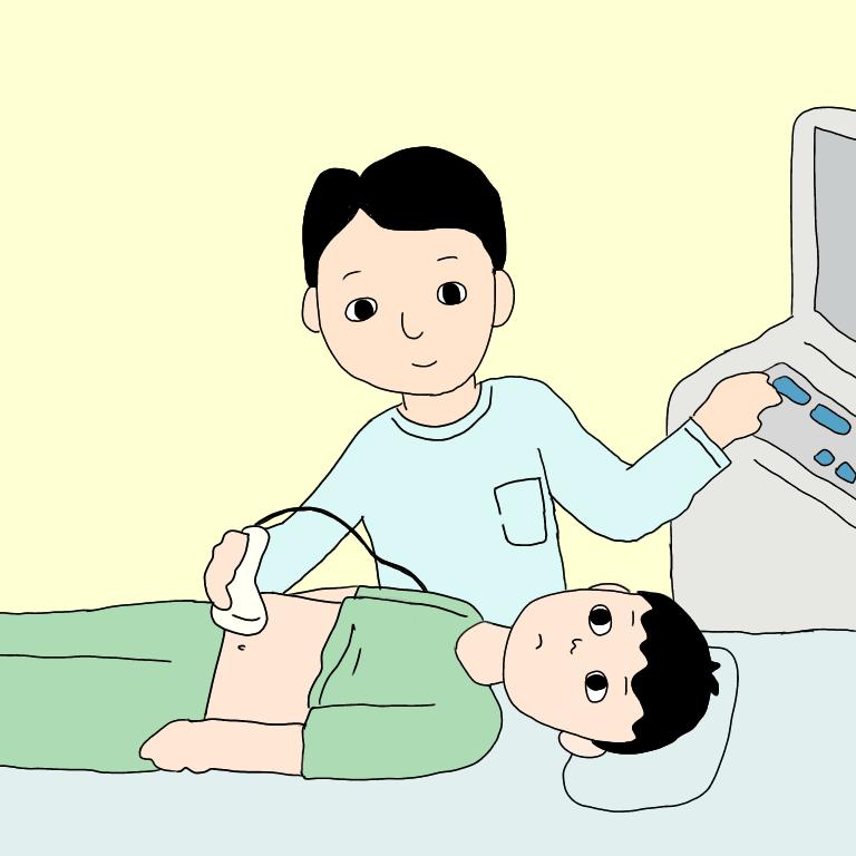 超音波検査(エコー)複数回実施