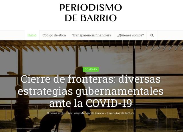 Periodismo de Barrio