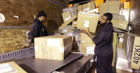 Warehouse Truck Loaders