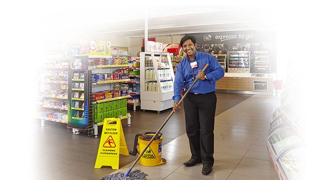 Retail Store – Cleaners wanted immediately: Salary R8 700 per month