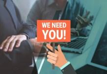 Job We Need You