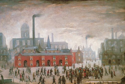 An Accident - Lowry, 1926