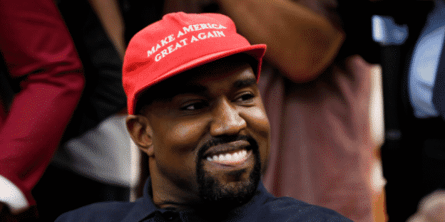 Kanye West Now Claims He's Taking Off His 'Make America Great Again' Hat