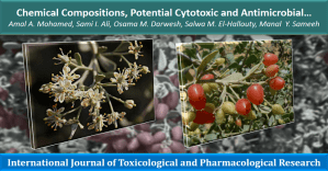 Chemical Compositions, Potential Cytotoxic and Antimicrobial Activities of Nitraria retusa Methanolic Extract Sub-fractions
