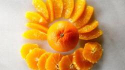 Как красиво нарезать апельсин и грейпфруты