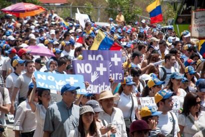Marcha contra la Violencia y la Censura en Mérida 18F | iJustSaidIt