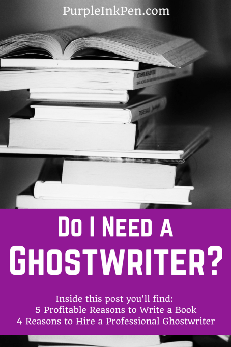 Do I Need a Ghostwriter-