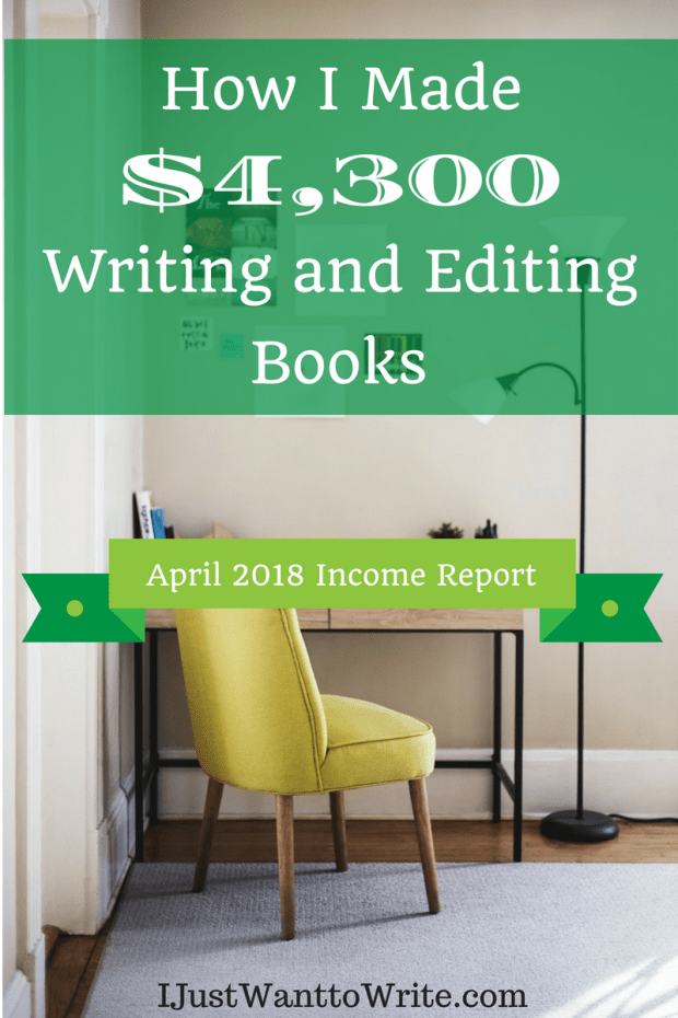 How I Made $ Writing and Editing Books_ April Income Report