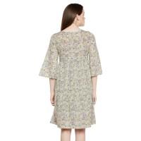 Paisley Print Tie-up Dress | Fu0006wdr004