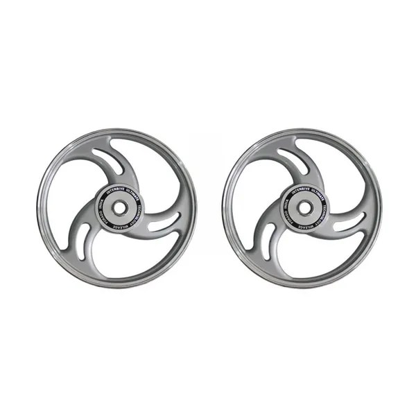 Buy Speedwav 3 Leaf Open Bike Alloy Wheel Set of 2-19/19