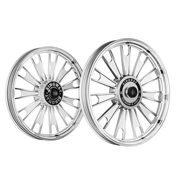 Buy Kingway JSP Zipp Bike Alloy Wheel Set of 2 Mirag White