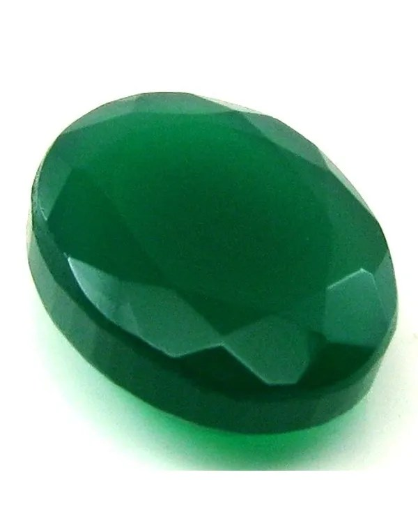 Certified 894Ct Natural Green Onyx Oval Cut Gemstone