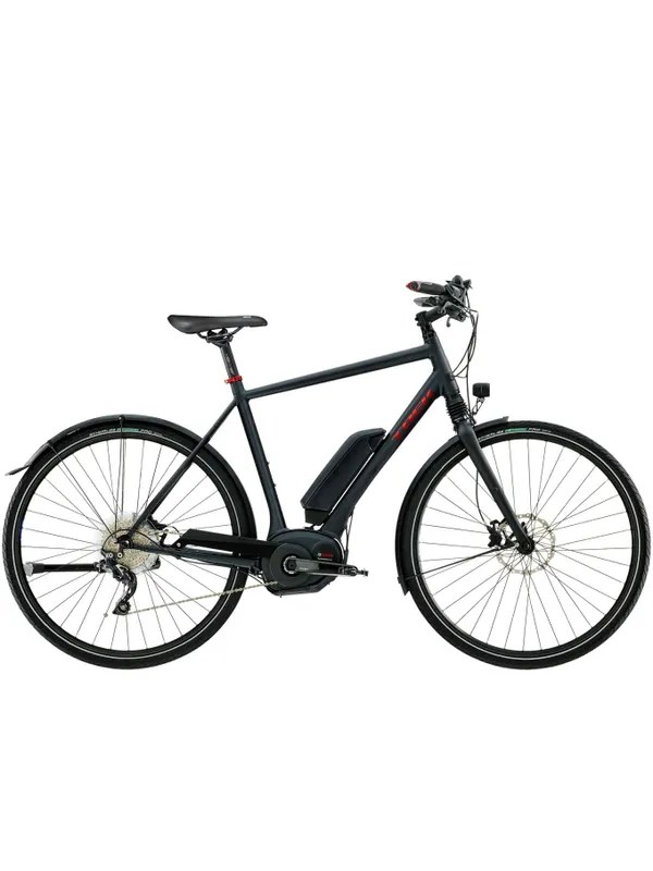 Man BLX Matte Black Pearl Bike