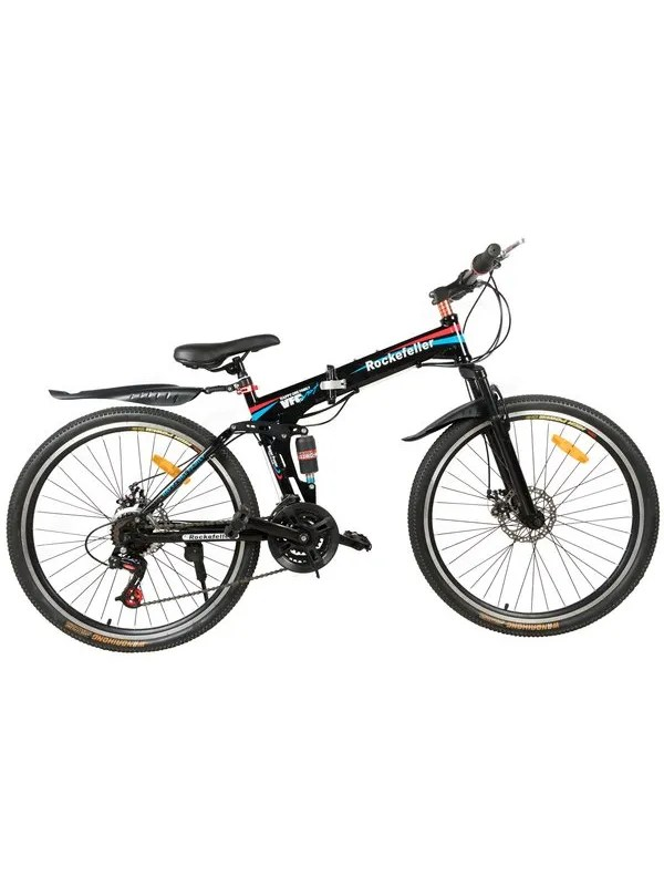 Rockefeller 26 inch Folding Mountain Bicycle with Spokes
