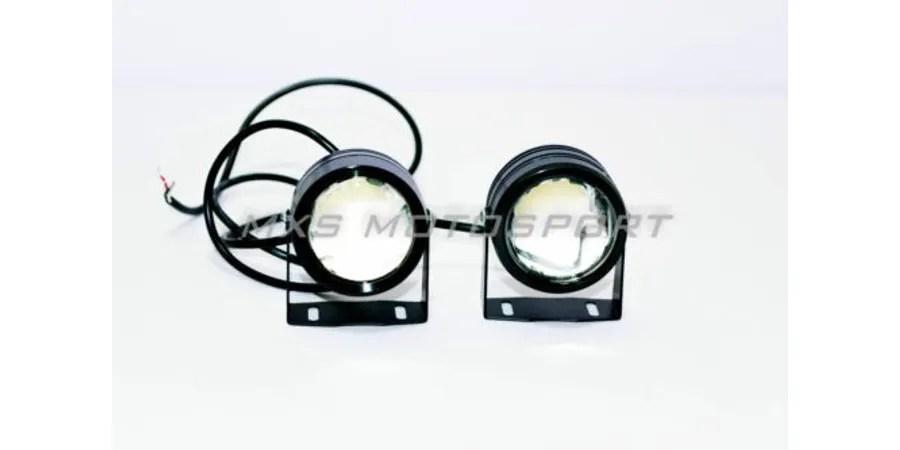 Mxs1930 Dual Led Flasher Fog Lamp Led Projector Drl