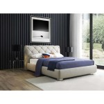 Dores Contemporary King Size Bed With Storage Bostonconcept Com