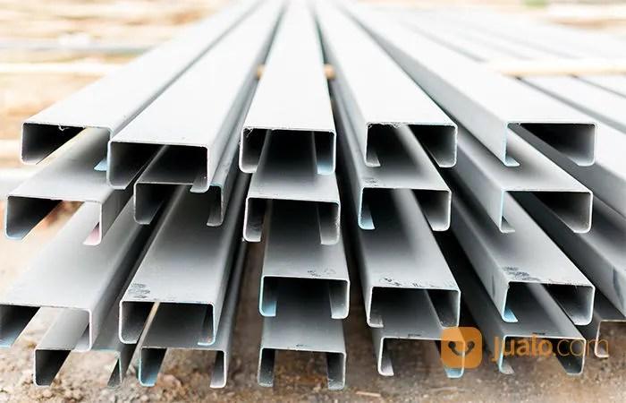 kanal c baja ringan surabaya besi profil untuk rangka atap 2018 murah