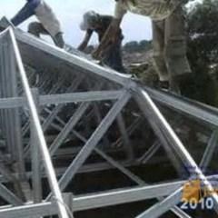 Rangka Atap Baja Ringan Untuk Teras Instalasi Pemasangan Dgn Tangerang