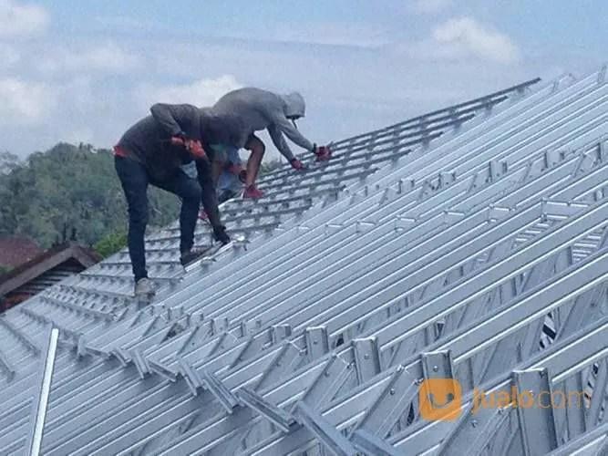 atap baja ringan nganjuk plafon gypsum pvc kediri blitar