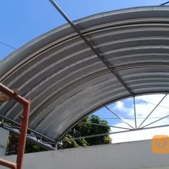 Baja Ringan Lengkung Atap Spandek Surabaya Jualo
