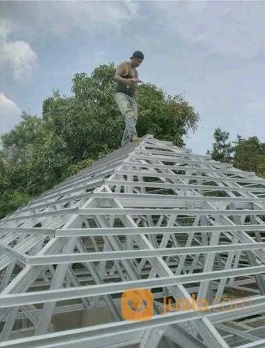 pasang baja ringan di semarang usaha mandiri borongan pemasangan rangka atap