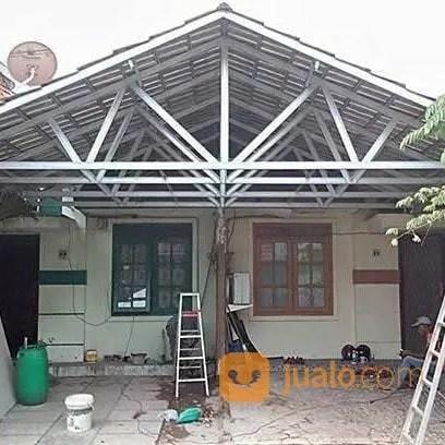canopy baja ringan di jakarta kanopi rangka atap murah pasar minggu
