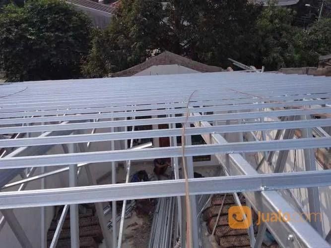 rangka atap baja ringan murah jakarta jasa pemasangan timur jualo