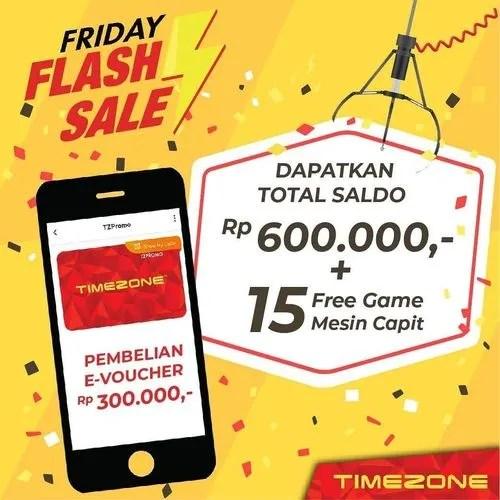 Timezone Indonesia Friday Flash Sale Jakarta Selatan Jualo