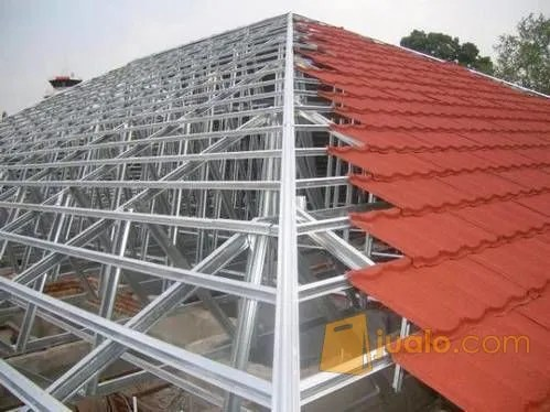 harga ongkos pasang atap baja ringan jasa renovasi bongkar bekasi jualo