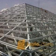 Harga Atap Baja Ringan Yogyakarta Rangka Plus Genteng Metal Pasir Terpasang Awet