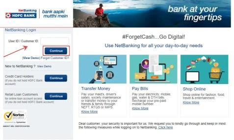 hdfc-net-banking