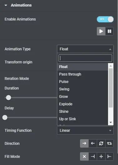 Loop Animations Dynamic Content for Elementor