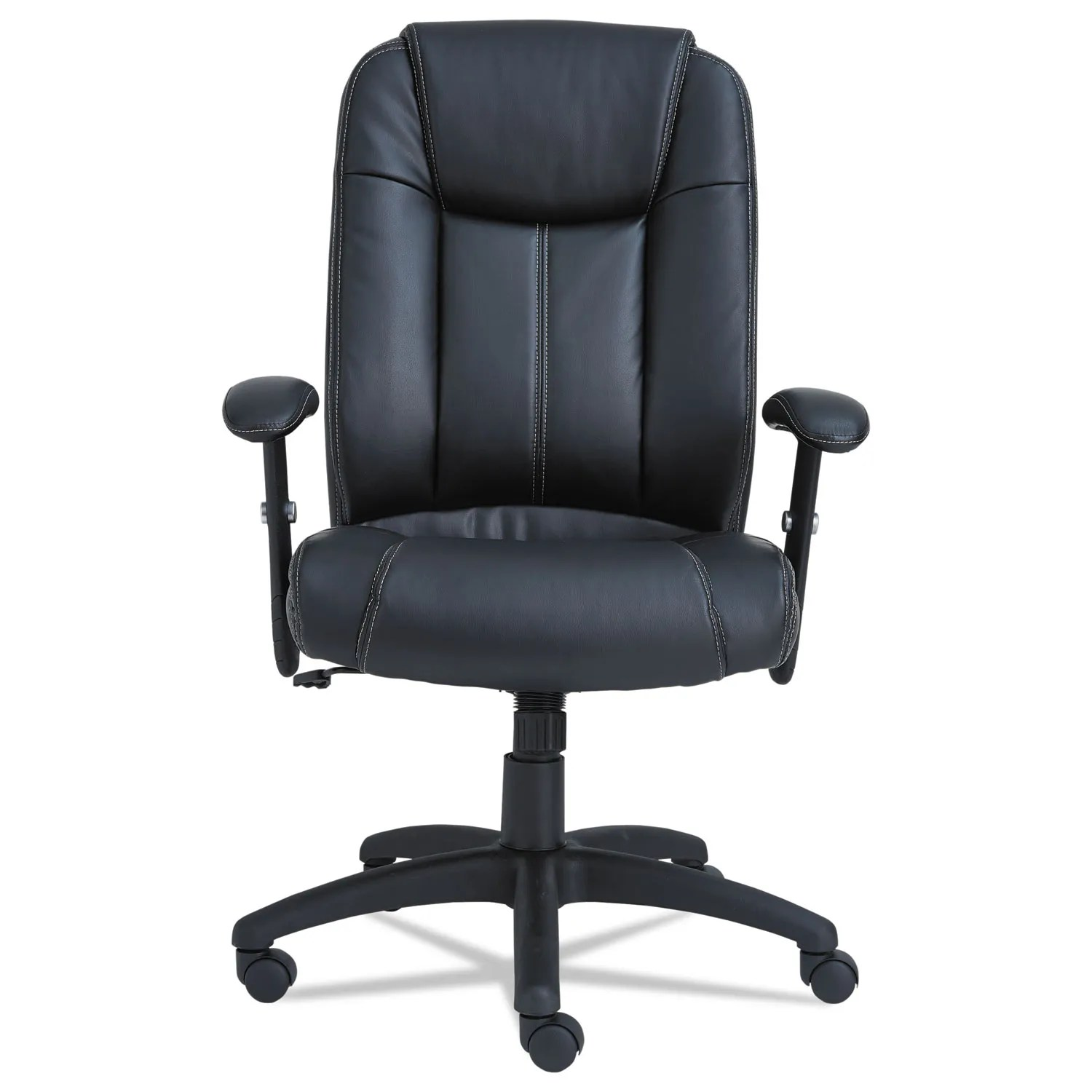Executive Leather Chair Alera Cc Series Executive High Back Swivel Tilt Leather Chair Black