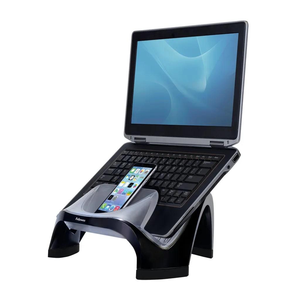 Fellowes Smart Suites Laptop Riser with 4 Port USB 20