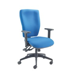 Posture Deluxe Chair Fishing Replacement Parts Cappela Square High Back Blue Kf03616