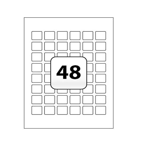 Avery Heavy Duty Address Labels 45.7 x 21.2mm (Pack of 960