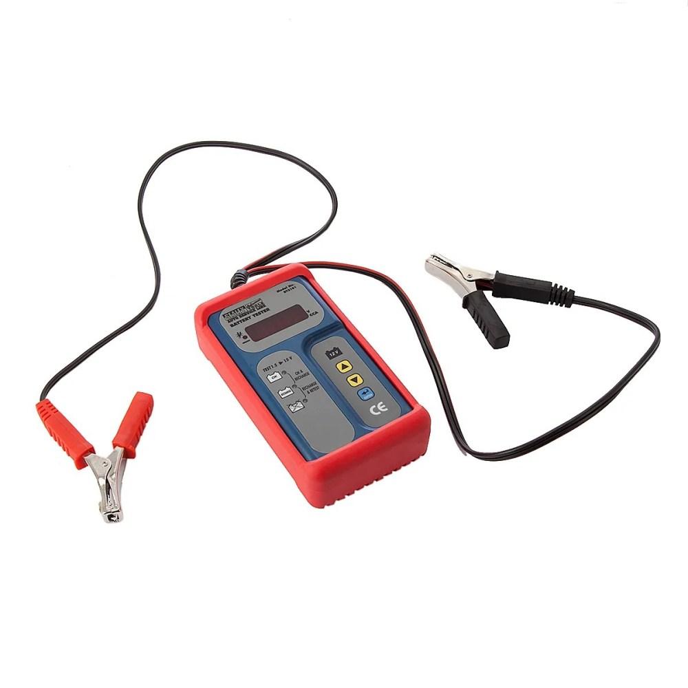 medium resolution of sealey bt2101 digital battery tester 12v