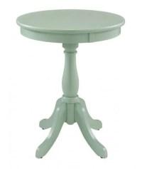 Palmetto Aqua Accent Table | The Furniture Mart