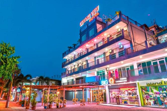 Cenang View Hotel Pantai Malaysia